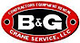 Crane Rental Company's Competitor - B & G Crane Service logo