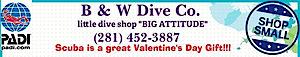 B & W Dive's Company logo