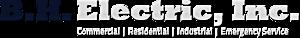 B. H. Electric's Company logo