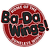 Ba-da Wings Raleigh's Company logo