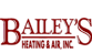 Bailey's Heating and Air Logo