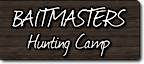 Baitmasters Hunting Camp's Company logo