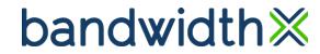 BandwidthX's Company logo