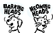Bella and Duke's Competitor - Barking Heads & Meowing Heads logo