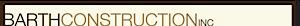 Barth Construction's Company logo