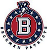 Beckman High School's Company logo