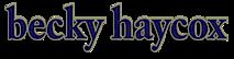 Becky Haycox's Company logo