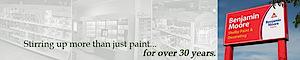 Benjamin Moore/shelby Paint And Decorating's Company logo