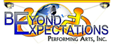 Beyond Expectations Performing Arts's Company logo