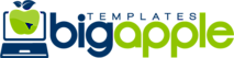 Big Apple Templates Store's Company logo