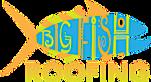 Big Fish Roofing's Company logo