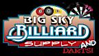 Big Sky Billiard Supply's Company logo