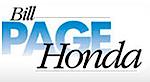 Bill Page Honda's Company logo