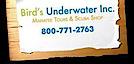 Bird's Underwater's Company logo