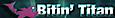 Bitin' Titan Logo