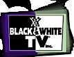 Black & White TV's Company logo