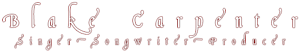 Blake Carpenter Music's Company logo