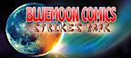 Blue Moon Comic's Company logo
