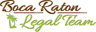 Boca Raton Legal Team Logo
