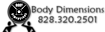 Just Workout's Competitor - Body Dimensions logo