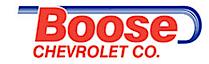 Boose Chevrolet's Company logo