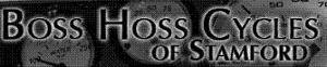 Boss Hoss Cycles of Stamford's Company logo