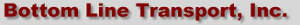 Bottom Line Transport's Company logo