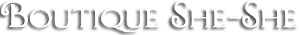 Boutique She-she's Company logo