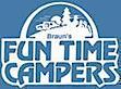 Braun's Fun Time Campers's Company logo