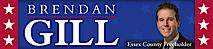 Brendan Gill For Freeholder's Company logo
