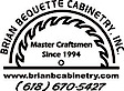Brian Bequette Cabinetry's Company logo