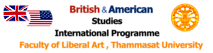 British And American Studies, Thammasat University's Company logo