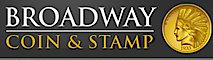 Broadway Coin and Stamp's Company logo