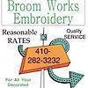 Broom Works Embroidery's Company logo