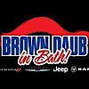 Brown Daub Dodge Chrysler Jeep Ram's Company logo