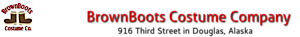 Brownboots Costume Company's Company logo