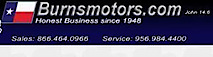 Burns Motors's Company logo