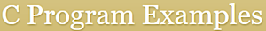C Program Examples's Company logo