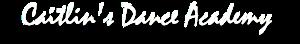 Caitlin's Dance Academy's Company logo