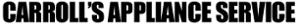 Carroll's Appliance's Company logo