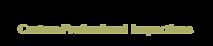 Cary Home Inspection's Company logo