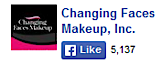 Changing Faces Makeup's Company logo