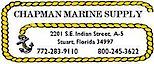 Chapman Marine Supply's Company logo