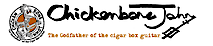 Chickenbone John's Guitars's Company logo
