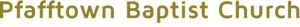 Pfafftownbaptist's Company logo