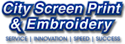 City Screen Print & Embroidery's Company logo