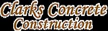 Clarks Concrete Construction's Company logo