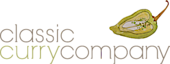 Classic Curry Company. Photography's Company logo