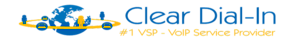 Clear Dial-in's Company logo