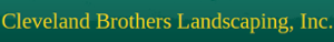 Cleveland Brothers Landscaping's Company logo
